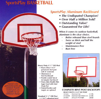 commercial basketball hoops baltimore md
