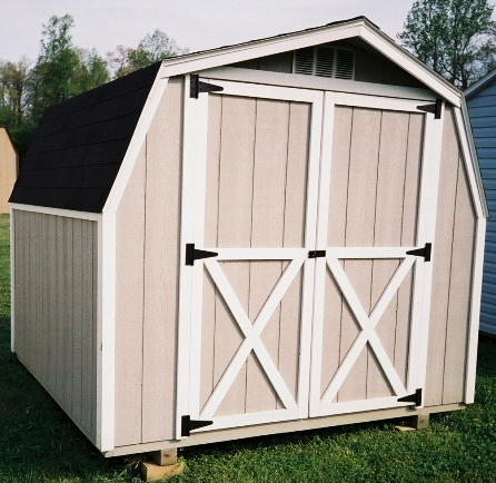 Dutch Barn Wood Shed Maryland